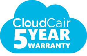 CloudCair Smarter Pressure Care 5 Year Warranty